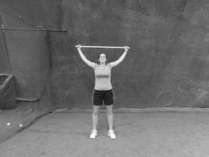 bacchetta servizio tennis