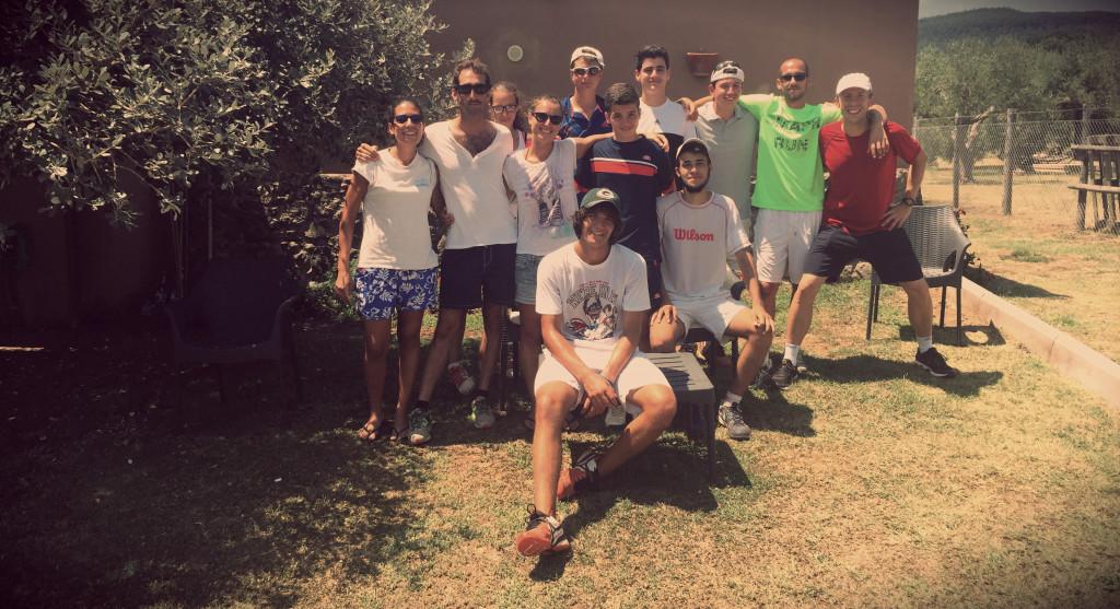 allenamenti tennis gruppo