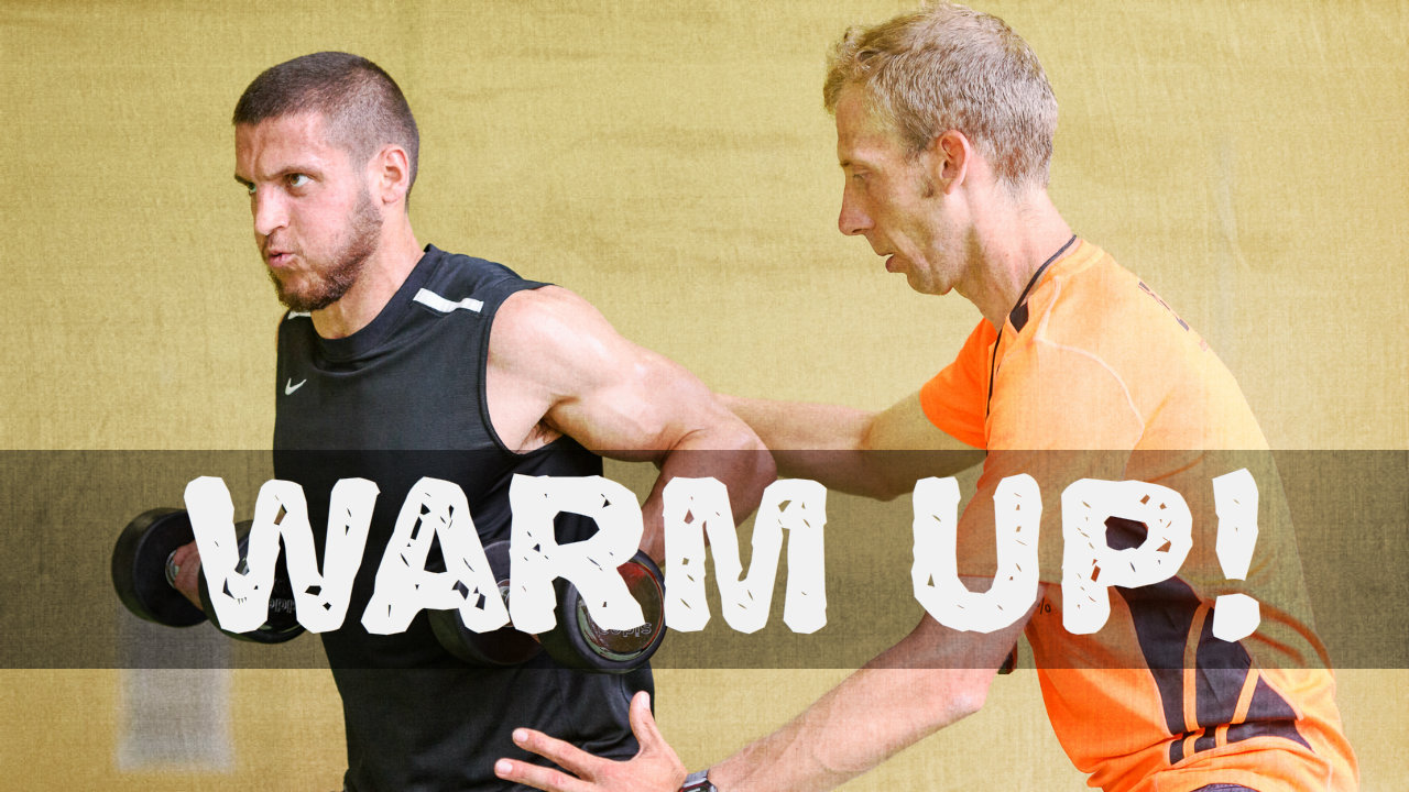 Warm up muscolare!