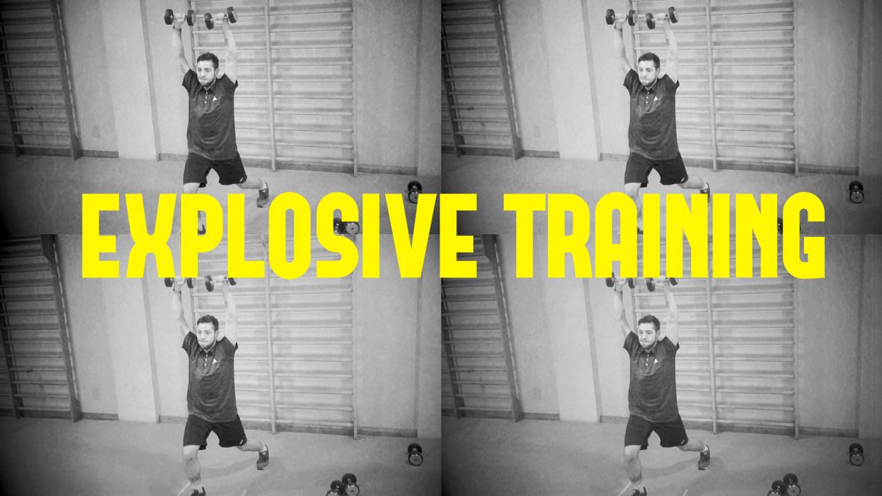 Explosive Training Pesi!